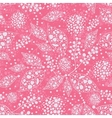 Pink abstract leaves seamless pattern background vector image