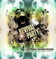 Attractive Club Disco Flyer background for vector image