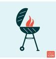 Barbecue BBQ icon vector image