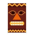 hawaiian tiki culture icon vector image