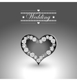 Heart and other elements for valentine s day or vector image