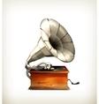 Gramophone vector image