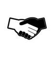 handshakes vector image