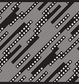 modern stylish halftone texture with random size vector image