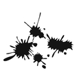 Paintball blots simple icon vector image