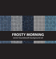 houndstooth pattern set frosty morning seamless vector image
