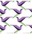 abstract and contemporary birds seamless surface vector image vector image