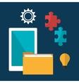 Business management design vector image