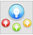 Icon of a Bulb vector image vector image
