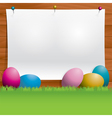 Easter Message vector image