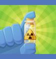 radioactivity vector image