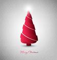 Christmas Design Tree vector image