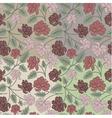 Vintage peony flowers vector image