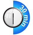 Timer 30 minutes vector image