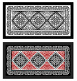 carpet ulchi double vector image