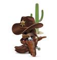 Cowboy Concept vector image