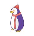 A penguin vector image vector image