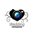 logo for photo studio vector image