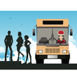 Bus Driver vector image vector image