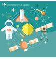 Space and astronomy vector image