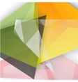background abstract polygon triangles vector image