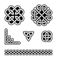Celtic knots patterns - vector image