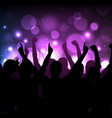 Concert or club background vector image