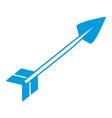 bow arrow isolated vector image