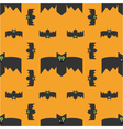 seamless pattern of bats decorative background vector image