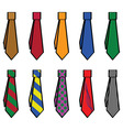 ties vector image
