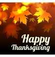 Happy thanksgiving background vector image