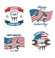 United States Labor Day national holiday vector image