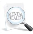 Mental Health vector image