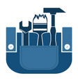 construction working industry concept vector image vector image