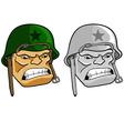 Army Man vector image