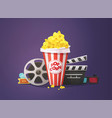 movie cinema concept vector image