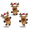 Santas Elks vector image