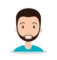 businessman man male icon vector image