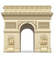 triumphal arch vector image vector image