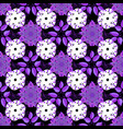 floral seamless pattern background flowers on vector image