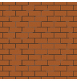 seamless background of brick wall vector image