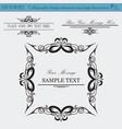 design elements copy vector image vector image