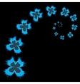 Butterfly vortex - vector image