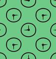 Clock Patterned Background vector image