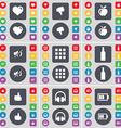 Heart Dislike Apple Mute Apps Bottle Like vector image vector image