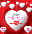 Happy Valantines Day vector image
