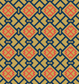 abstract oriental seamless pattern vector image
