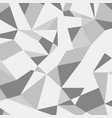 Grey abstract geometric pattern vector image