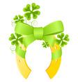 Saint Patrick's day background vector image