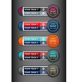 scoreboard sport timer vector image
